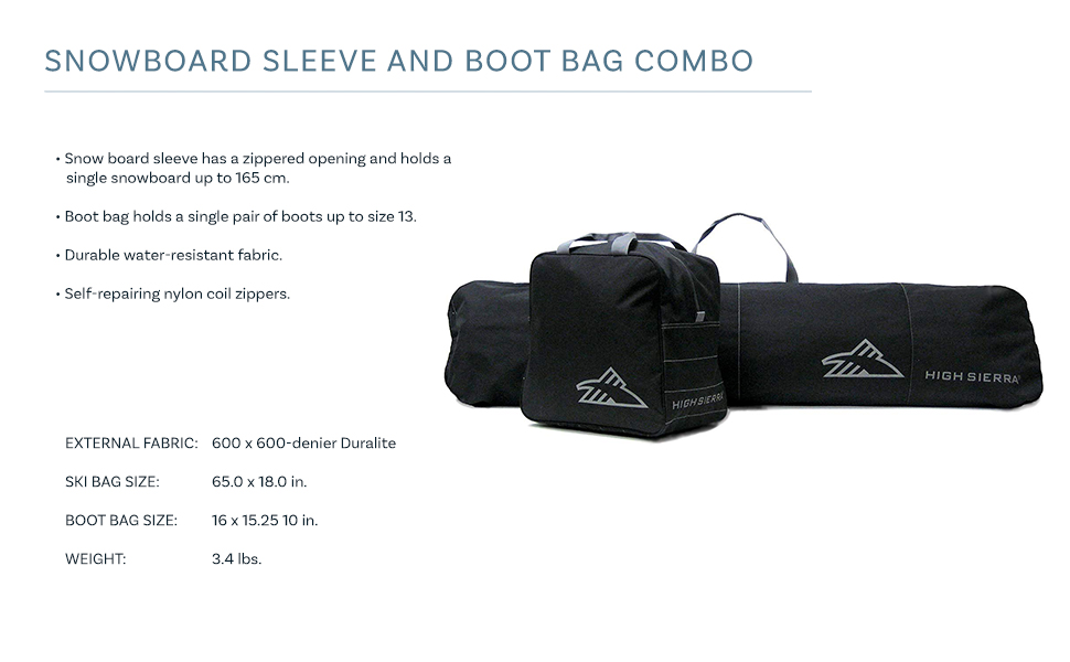 Transport or Store Your Snowboard in This Great Sleeve Snowboard Bag. Snowboard Bag Board Sleeve 62 inch Long Bag