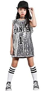 traje de baile hip hop para niñas