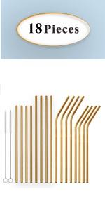 Golden Straws
