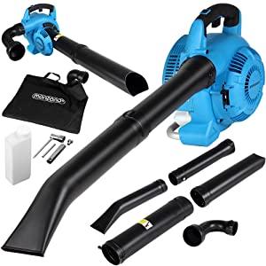 Monzana 3en1 Soplador aspirador y trituradora de gasolina con ...
