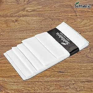 Handkerchiefs, 100% Pure Soft Cotton Handkerchief, Pocket Square Hankies, Great Gift, King Size