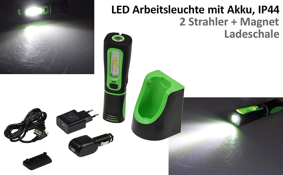 LED ARBEITSLEUCHTE CAMPINGLEUCHTE WERKSTATTLAMPE MAGNETISCH lampe