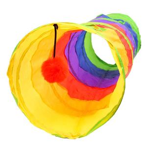 Cat Foldable Rainbow Tunnel