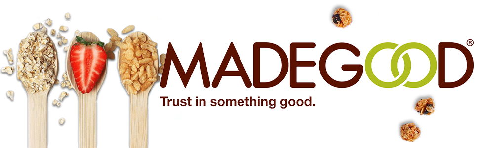 MadeGood Granola Bars are allergy friendly and low in sugar. Trust in something good.