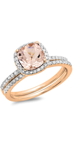 Rose Gold and Diaond