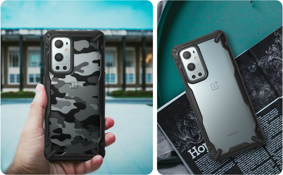 Ringke Fusion X Designed for OnePlus 9 Pro Case (2021)