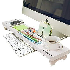 Computer Keyboard Storage Rack Tray Desktop Shelf Organizer Load-bearing 5KG