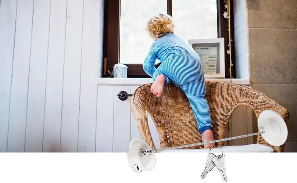 Window Door Restrictor Security Lock