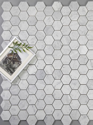 diflart-carrara-white-italian-carrera-bianco-hexagon-marble-mosaic-tile-2-inch-honed1