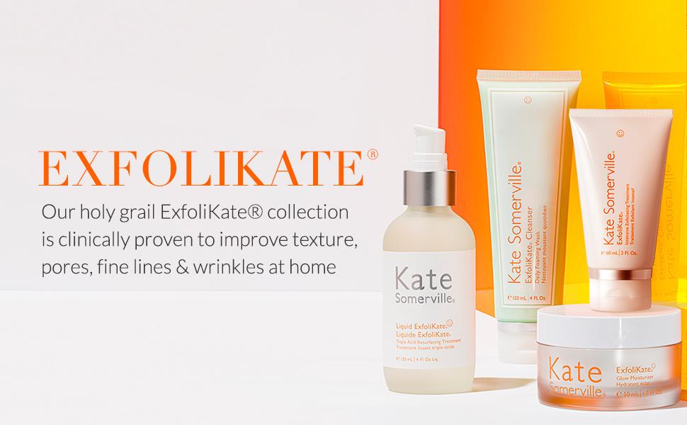 exfolikate, kate somerville skincare, glow, exfoliate