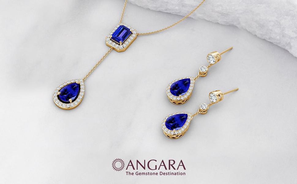 Tanzanite Jewelry by Angara