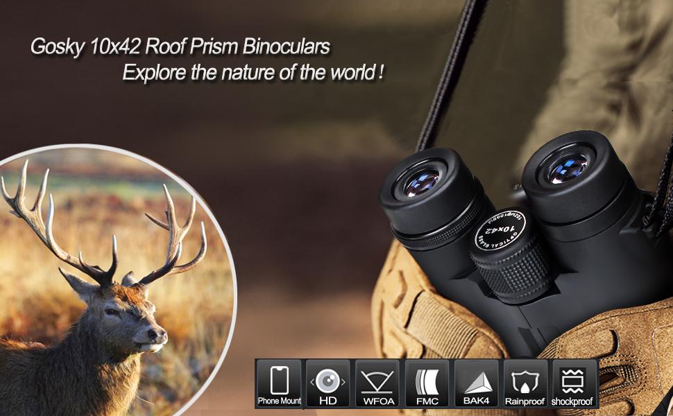 HD Roof Prism binoculars