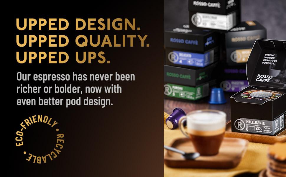 Variety pack rosso caffe cafe roso ristretto espresso expresso lungo capuccino ice coffee