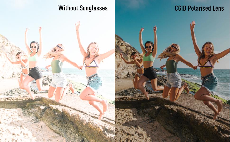 Polarized Lens Men Sunglasses Women Sunglasses