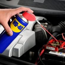Remove Rust from the Car Battery Terminals