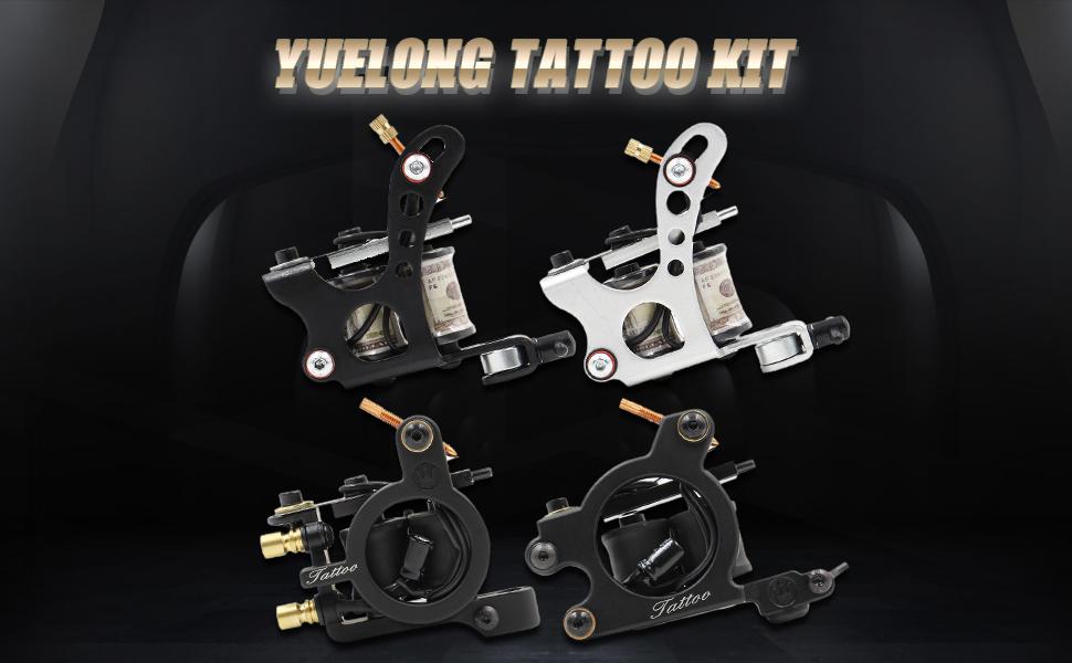 YUELONG tattoo kit