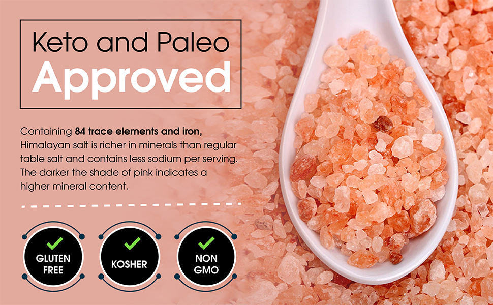 is himalayan salt ok on paleo diet