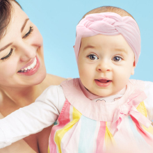 6-12 Pack Baby Girl Cute Headband Headwraps Elastic Bunny Ears Hair Band Holder1