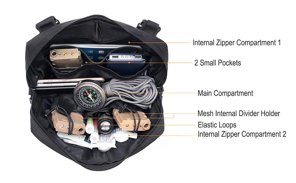 radio chest harness