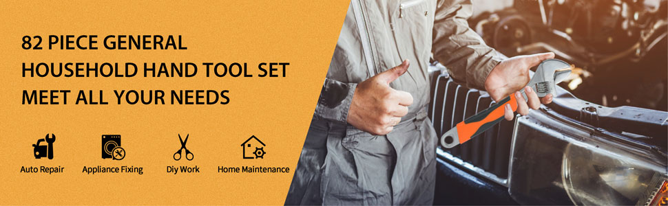 SOLUDE Home Mechanics Tool Set