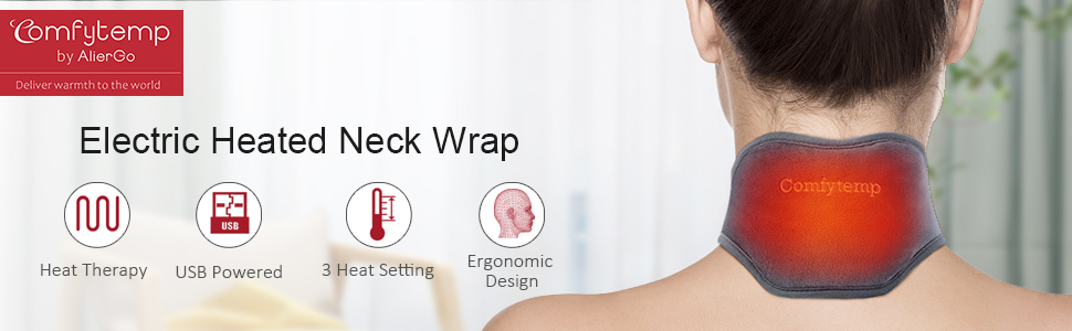 heated neck wrap