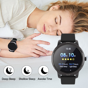 Smart Watch Fitness Tracker Watch with sleep Monitor for android phones iphone compatible
