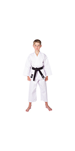 MARTIAL ARTS Gi PANTS KARATE JUDO TAEKWONDO MMA 0001234567 WHITE DRAGON 8oz
