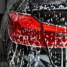 Autoamerics car washing wash cleaning mirror shine hybrid car wax sealant spray protection detailing