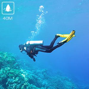 131 Feet Underwater Camera