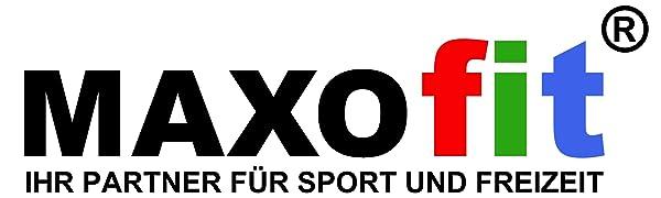 maxofit ihr partner für sport und freizeit markenlogo