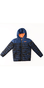 boy winter warm jacket puffer padded active casual coat
