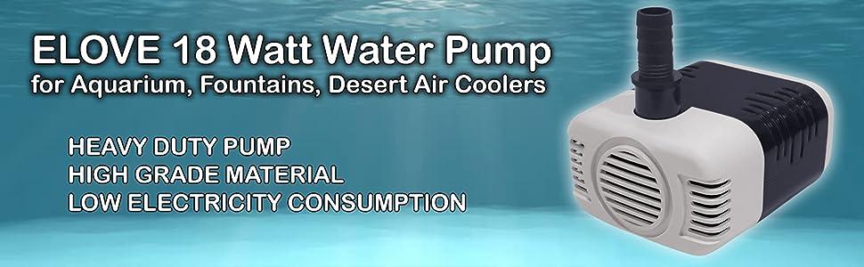 18 watt water pump