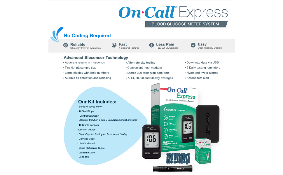On Call Express Kit Contents