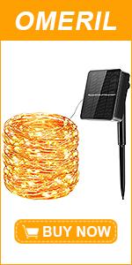 Guirnaldas Luces Exterior Solar