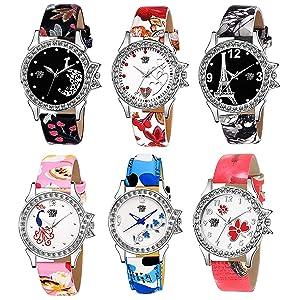 girl's watch combo, analog watch combo, watch combo