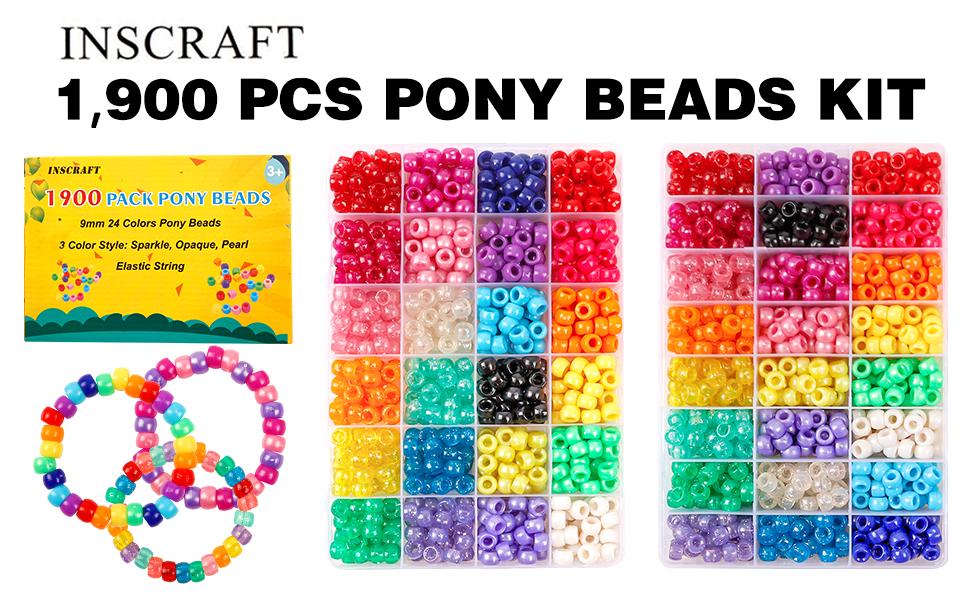pony beads 1900