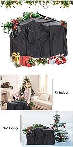 christmas tree bag large size