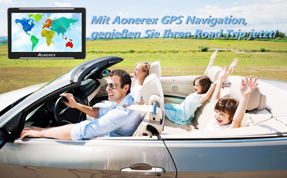 Aonerex GPS Navigation