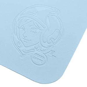 illustration by stanley Artgerm lau Pepper original character deboss leather desk pad marvelistic