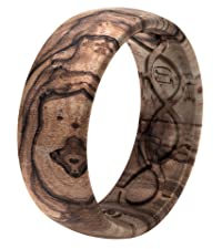 Groove Life Wedding Rings Nomad Burled Walnut