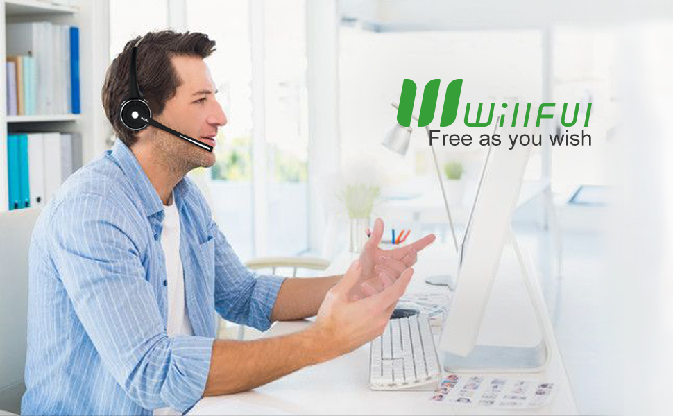 willful bluetooth headset