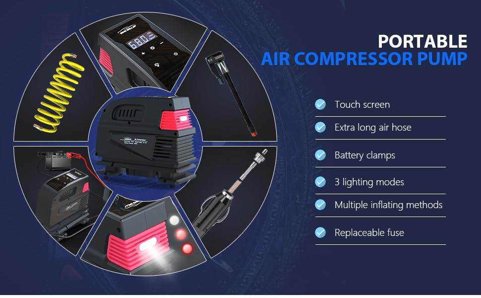 air pump for car tires