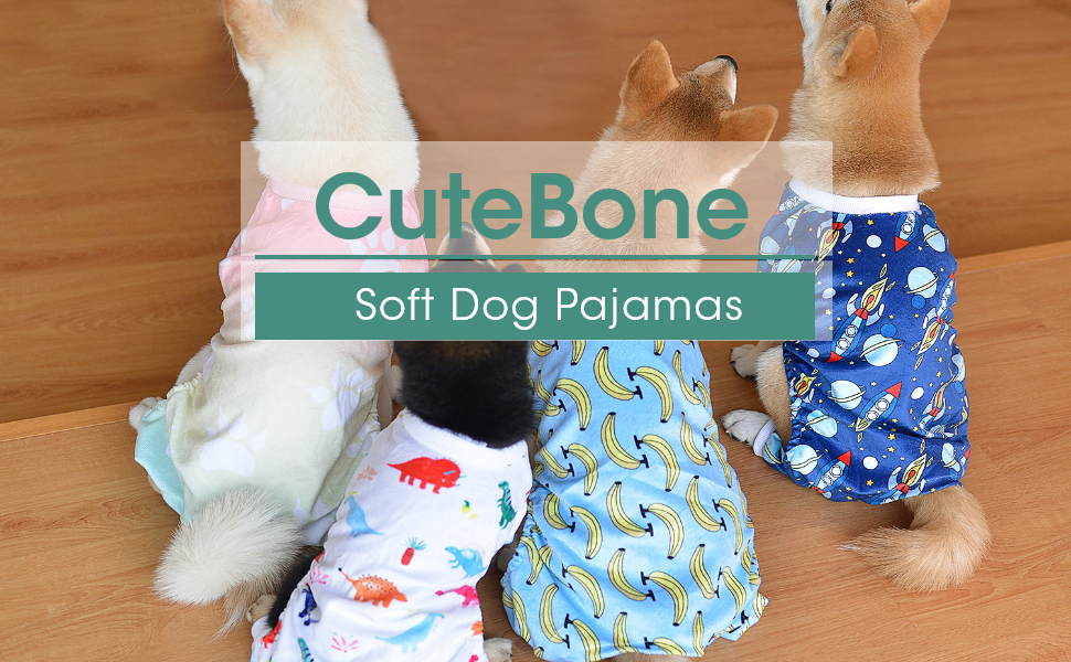 CuteBone Soft Dog Pajamas