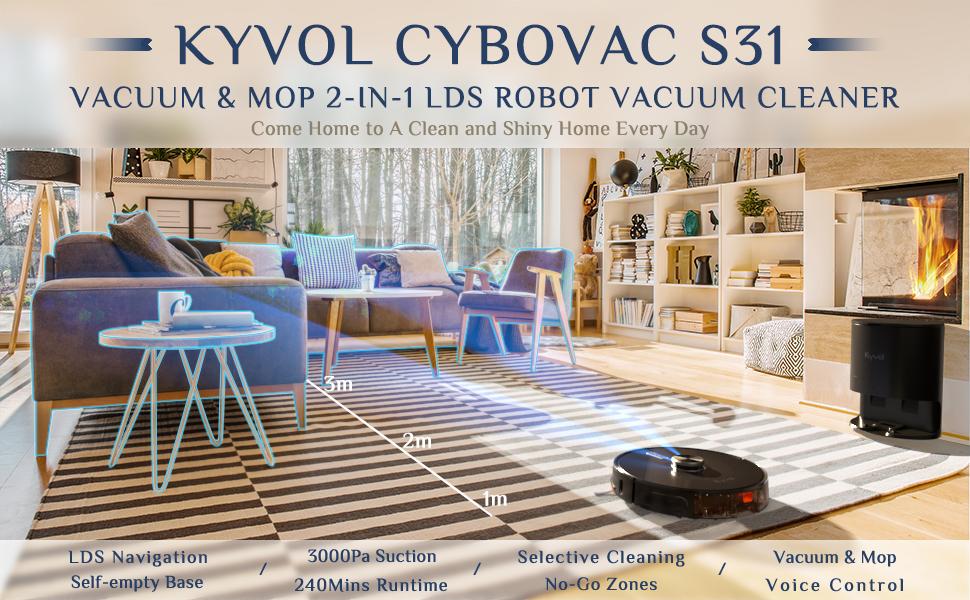 S31 robot vacuum