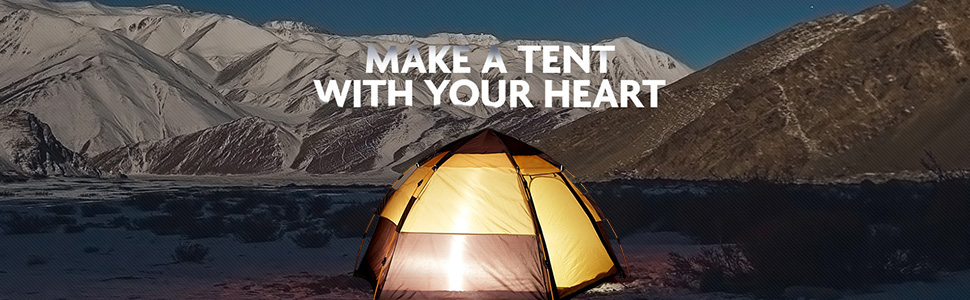 Toogh 3-4 Person Tents