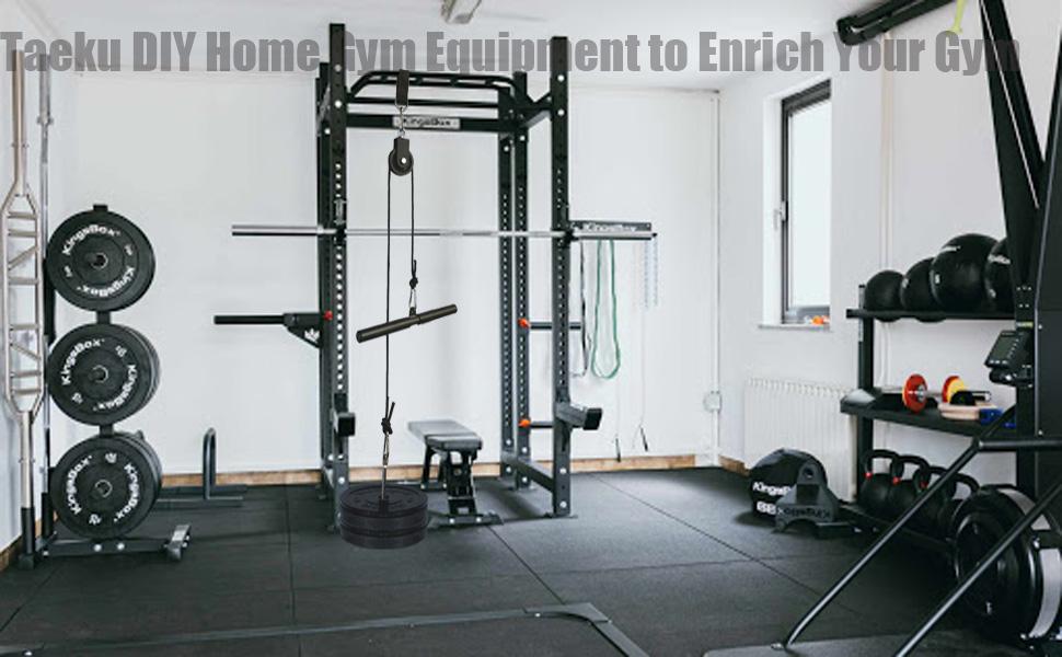 Taeku DIY Home Gym Equipment to Enrich Your Gym