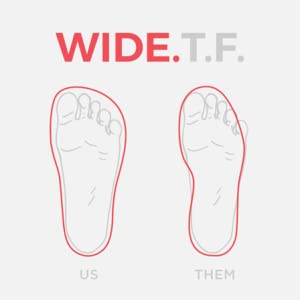 wide toe box