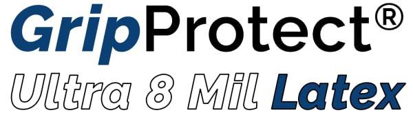 GripProtect Ultra 8 Mil Latex logo