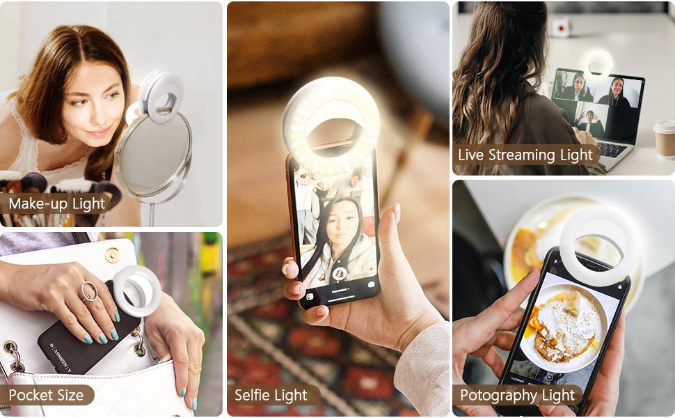 selfie ring light for phone