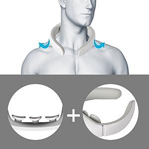 adjustable neck massager